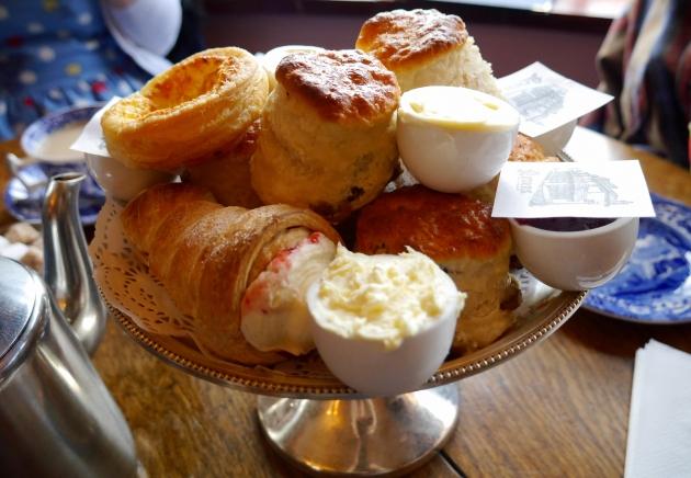 Cream Tea at Maids of Honour