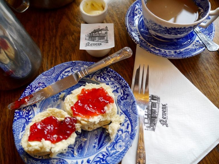 Scones with jam at Maids of Honour