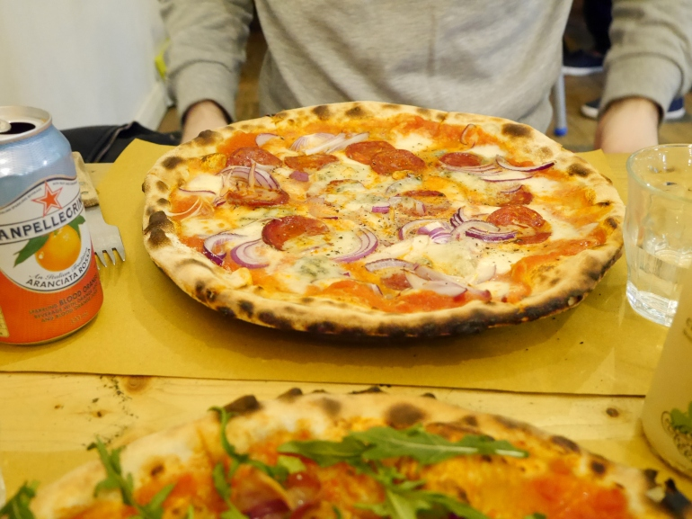 RocknRoll Pizza at Ruben's Bakehouse