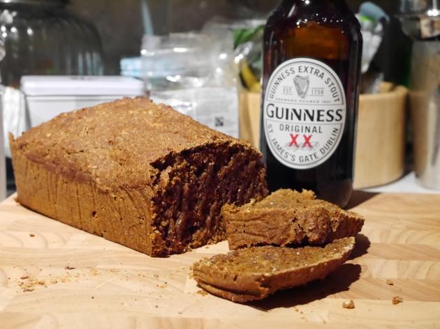 UK Blogger makes guinness bread