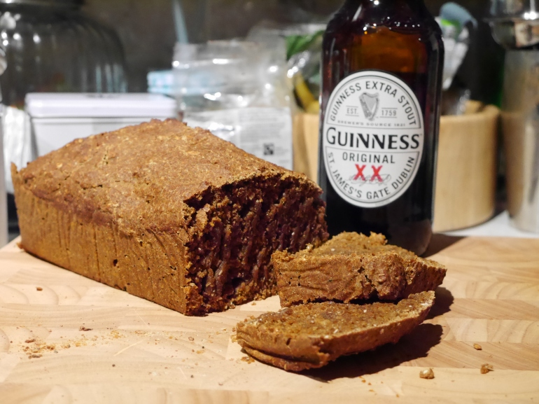 UK Blogger makes guinness bread