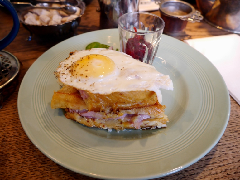 Croque Madame at Sugardough