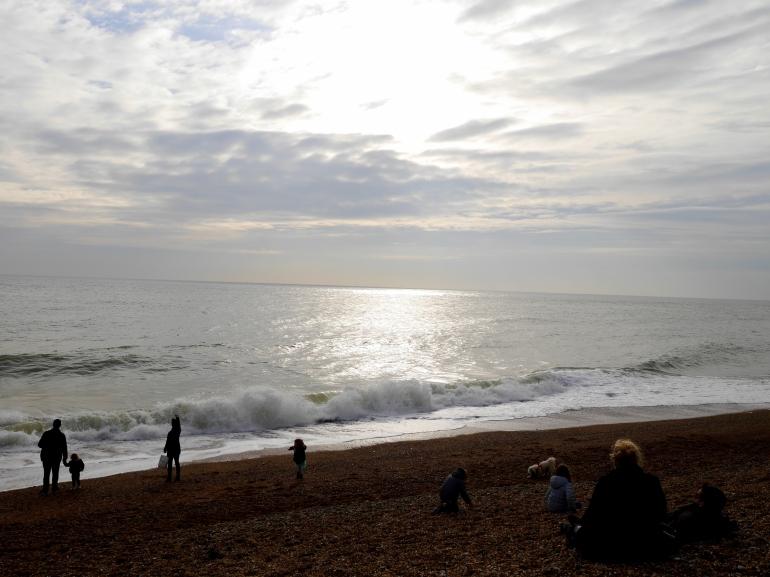 Brighton in February