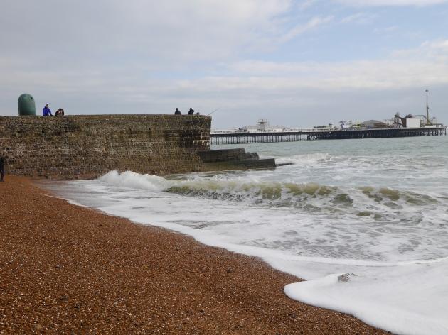 Brighton Pier in February