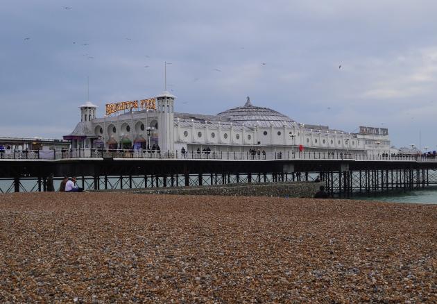 Brighton Pier February