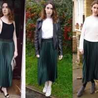 1 Skirt 3 Ways|Mango Midi Skirt