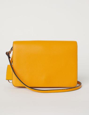 H&M Yellow Shoulder Bag