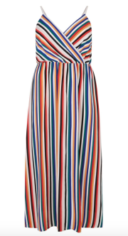 New Look Striped Maxi Dress
