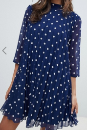 ASOS Polka Dot Dress