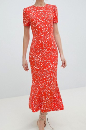 ASOS Red Star Dress