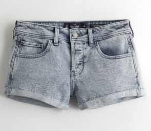 Hollister Acid Wash Shorts