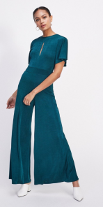 Miss Selfridge Slinky Angel Wide Leg Jumpsuit