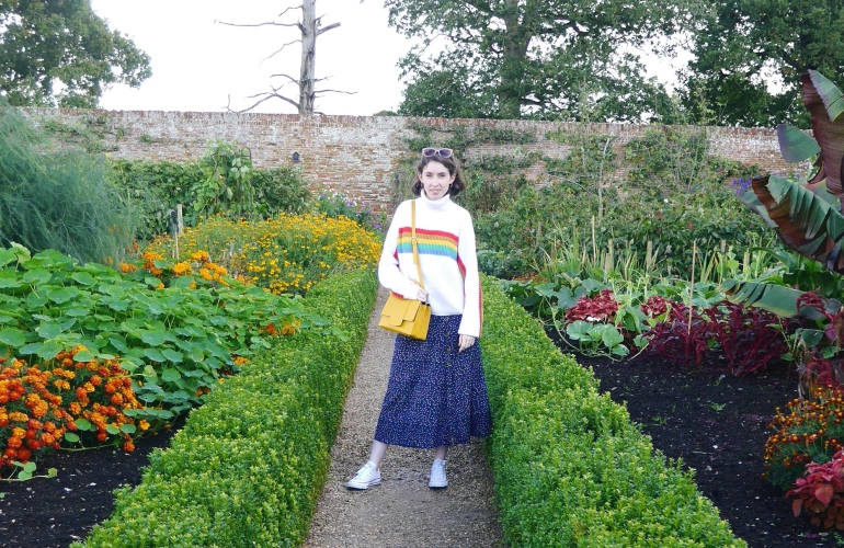 Blogger at Felbrigg Hall Norfolk