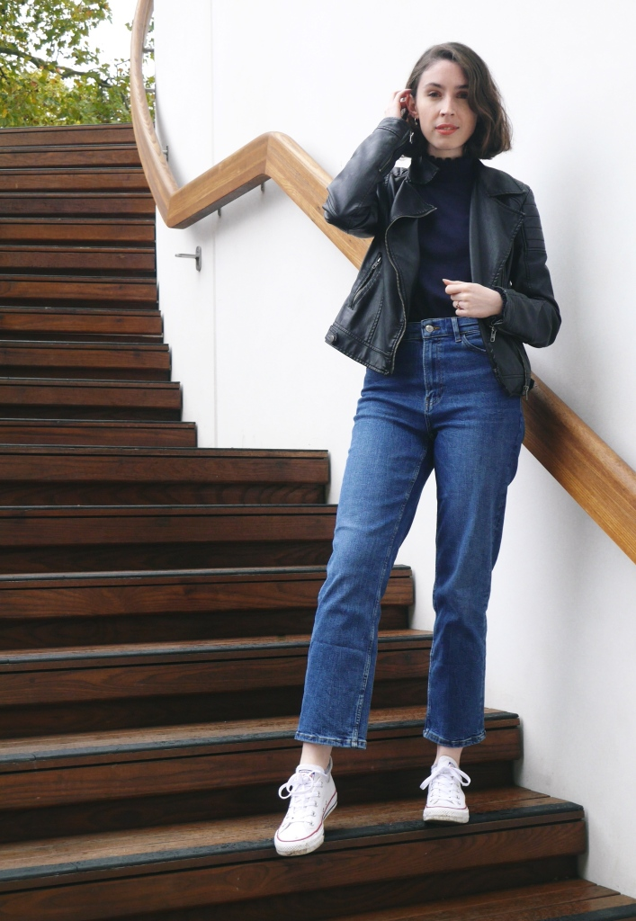 Petite Blogger Styling Ankle Swinger Jeans