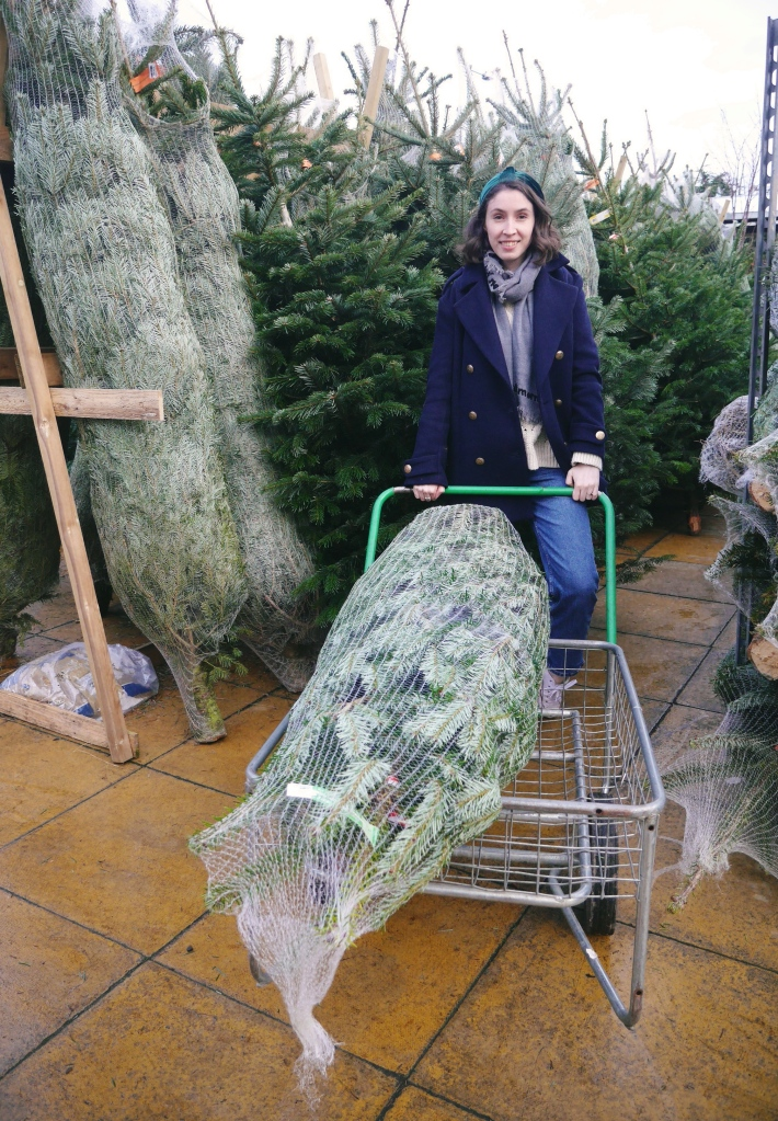 Blogger Christmas Tree Shopping