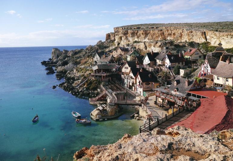 Popeye Village Malta in January
