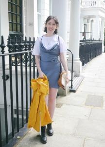 Styling a mini dress in summer